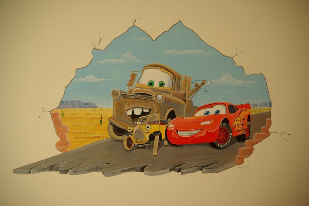 Cars en brum samen - Kamer van water m ...