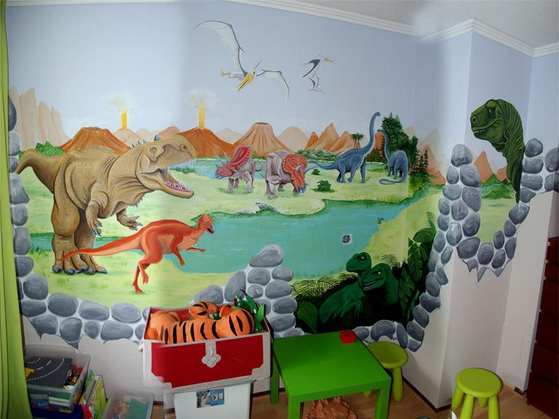 Dino kamer voor bo - Kamer van water m ...
