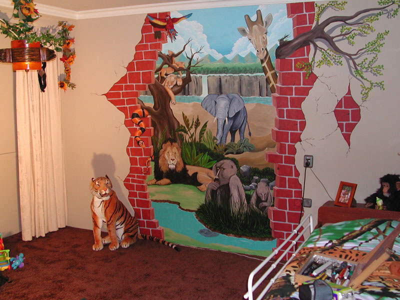 Jungle Kamer voor Dickie