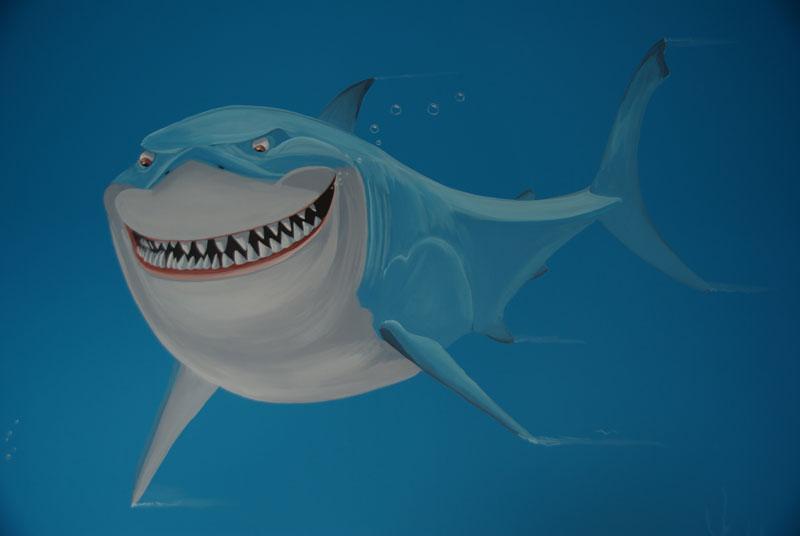 Finding Nemo met Haai