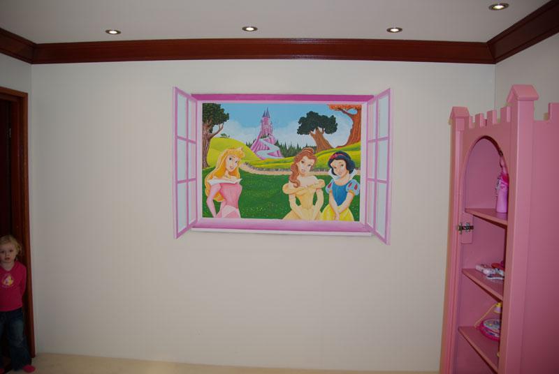 Prinsessen Slaapkamer : Hieronder is dus een andere variatie te zien ...