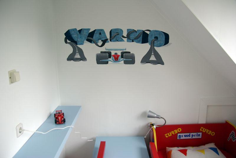 Rtl4 sos verbouwing - Muurschildering volwassen kamer ...