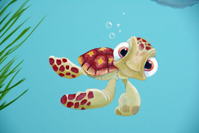 Onderwater Paneel Nemo op kinderdagverblijf